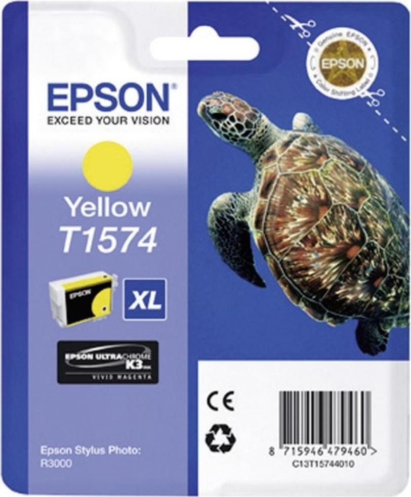 Epson nr.T1574/C13T15744010 blækpatron, gul, 26ml