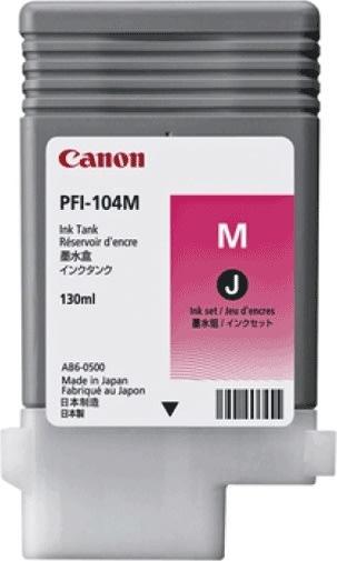 Canon PFI-104M blækpatron, rød, 130ml