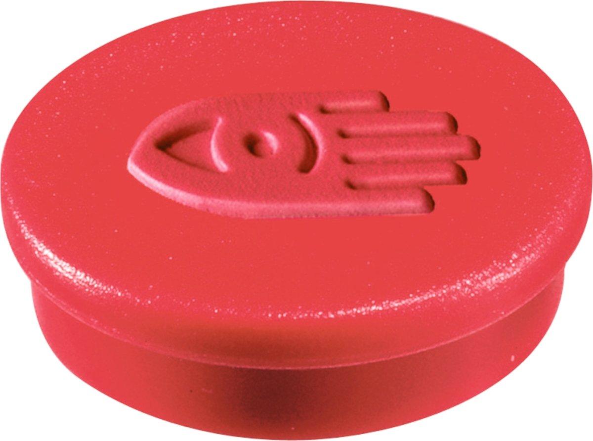 Legamaster magneter, 30 mm, rød, 10 stk.