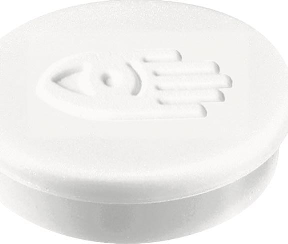 Legamaster magneter, 30 mm, hvid, 10 stk