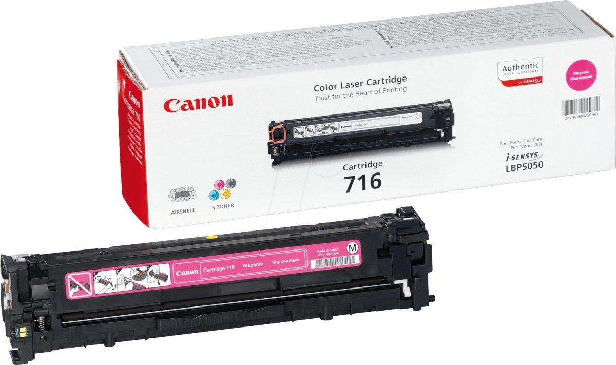 Canon nr.716M/1978B002AA lasertoner, rød, 1500s
