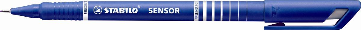 Stabilo Sensor Fiberpen, blå