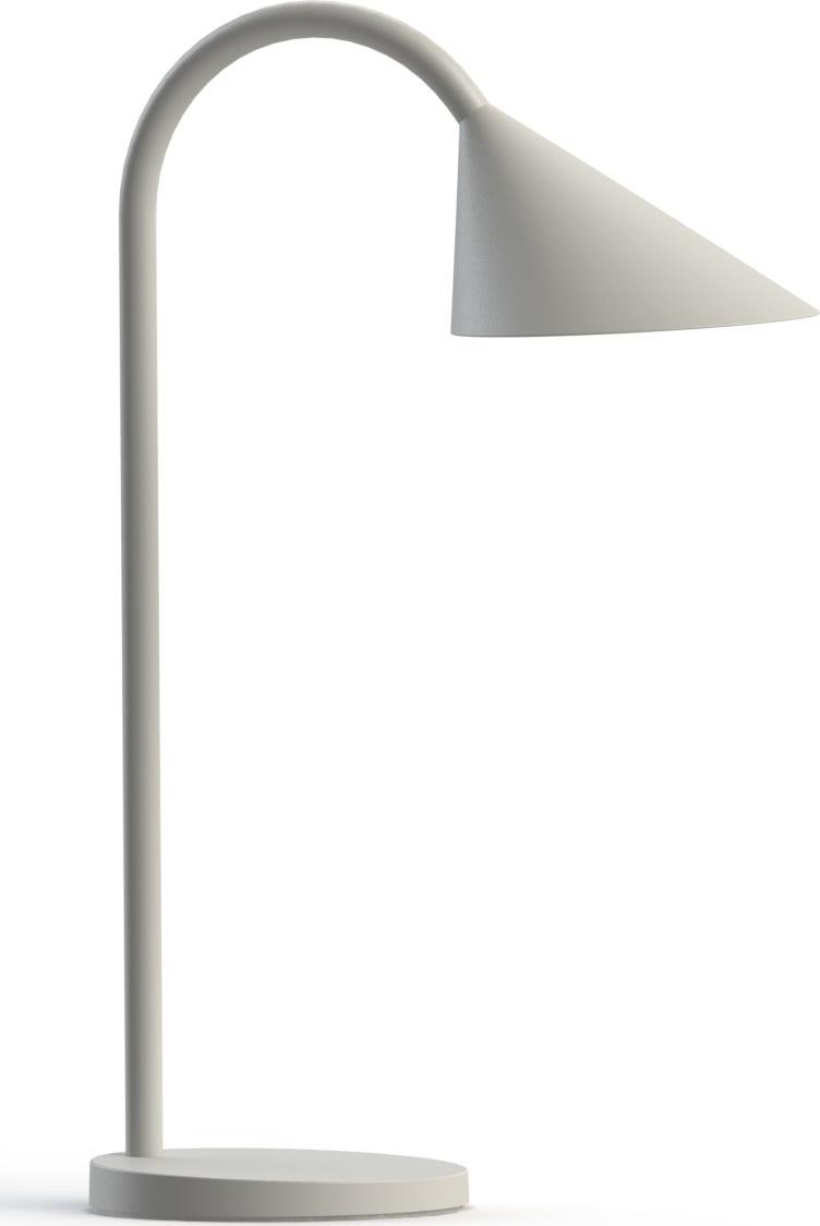 Unilux Sol bordlampe, hvid