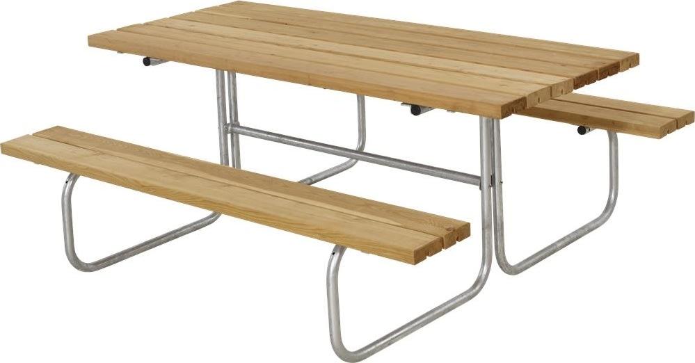 Plus Classic bord-bænkesæt, Lærk