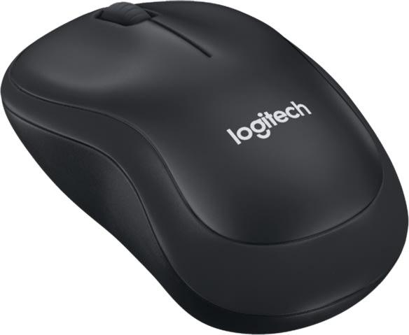 Logitech B220 Silent-mus, sort
