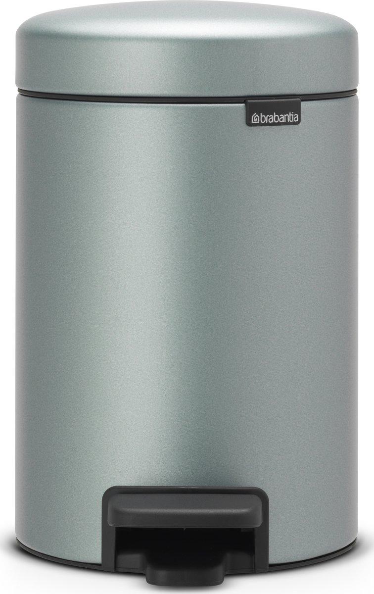 Brabantia Pedalspand 3 L, metallic mint