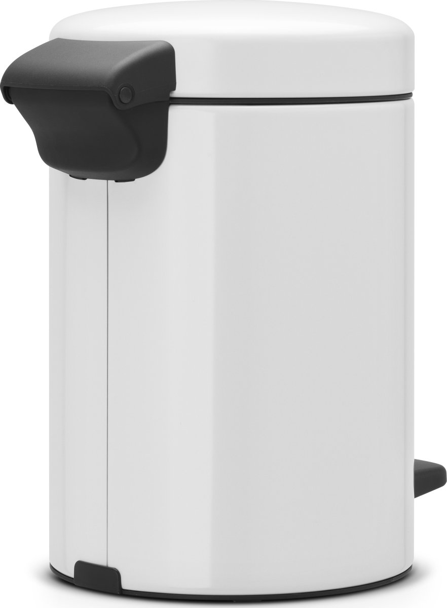 Brabantia Pedalspand 3 L, white