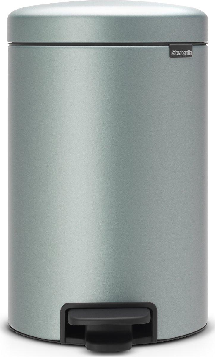 Brabantia Pedalspand, 12 L, metallic mint