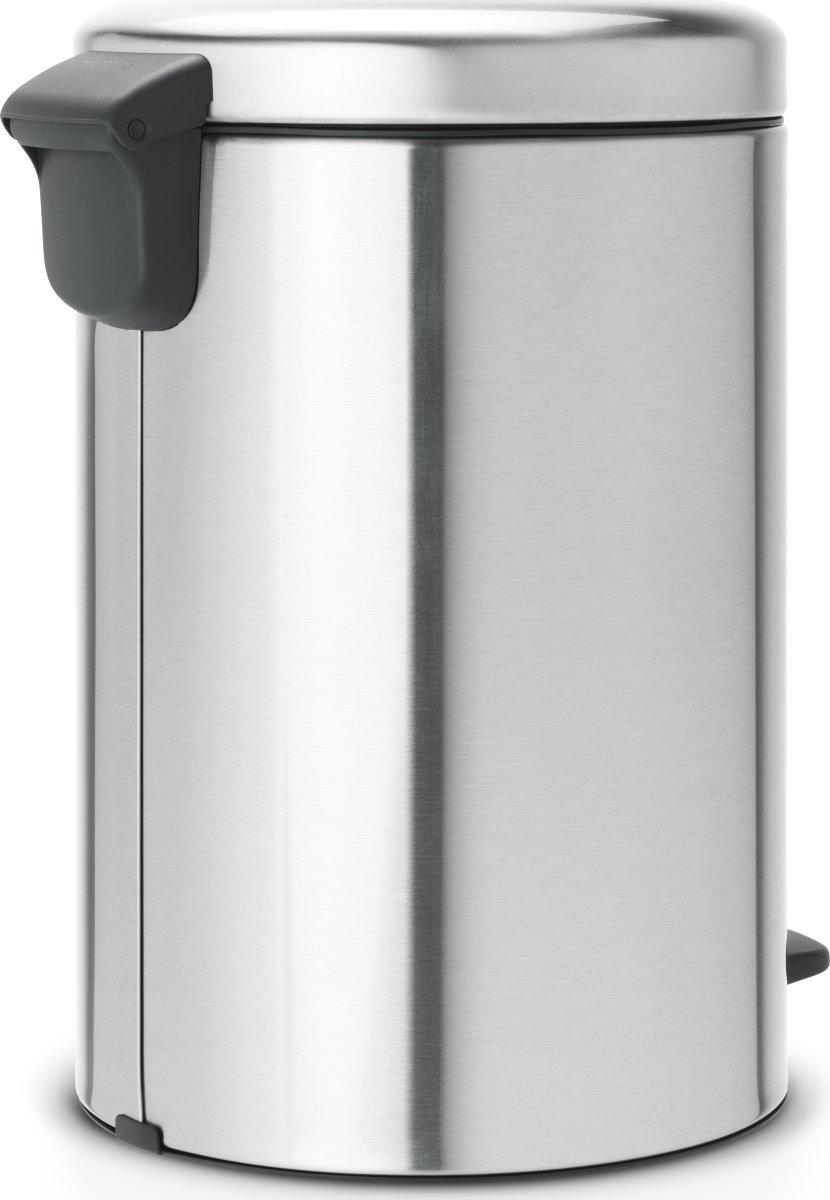 Brabantia Pedalspand, 20 L, matt steel FPP