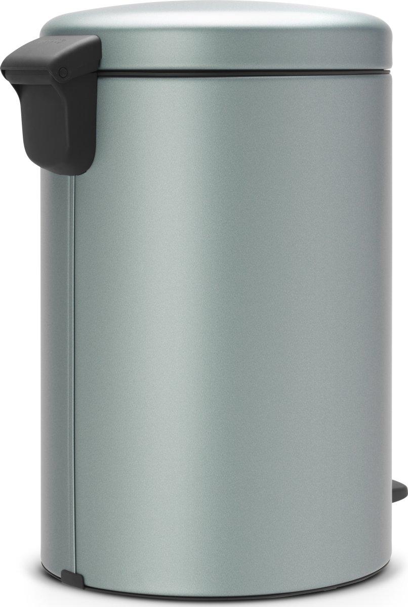 Brabantia Pedalspand, 20 L, metallic mint