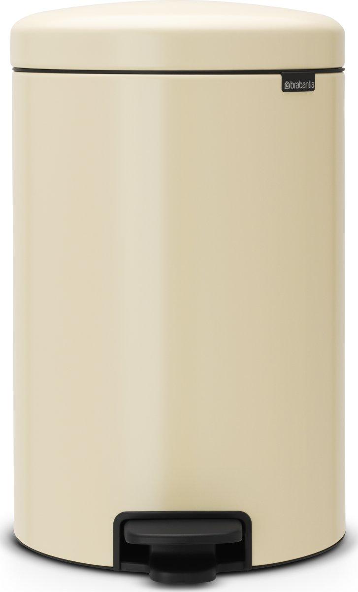 Brabantia Pedalspand, 20 L, almond