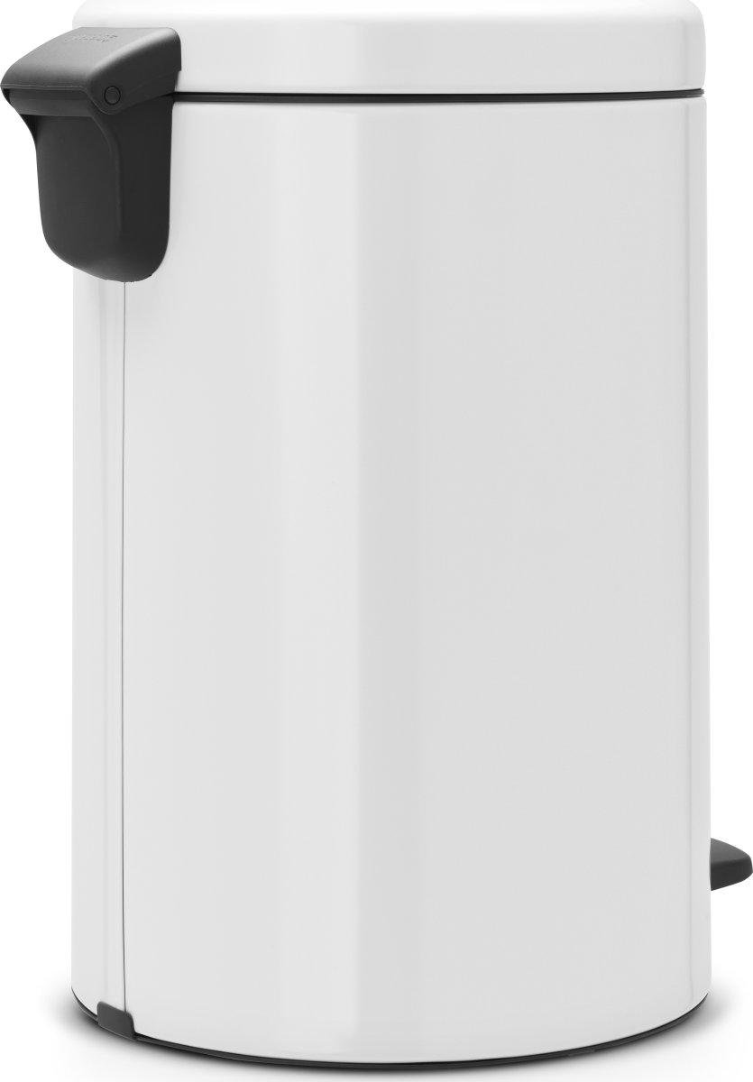 Brabantia Pedalspand, 20 L, white