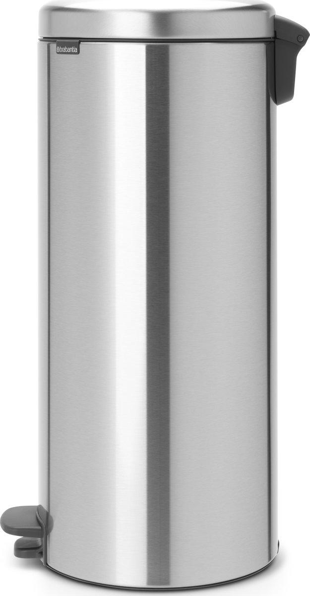 Brabantia Pedalspand, 30 L, matt steel