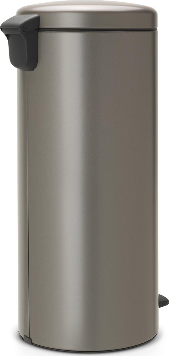 Brabantia Pedalspand, 30 L, platinum