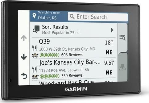 Garmin DriveSmart 51 LMT-S gps, Vesteuropakort