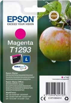 Epson nr.T1293/C13T12934012 blækpatron, rød, 440s