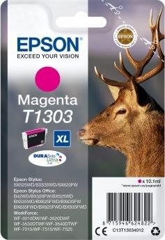 Epson nr.T1303/C13T13034012 blækpatron, rød, 750s