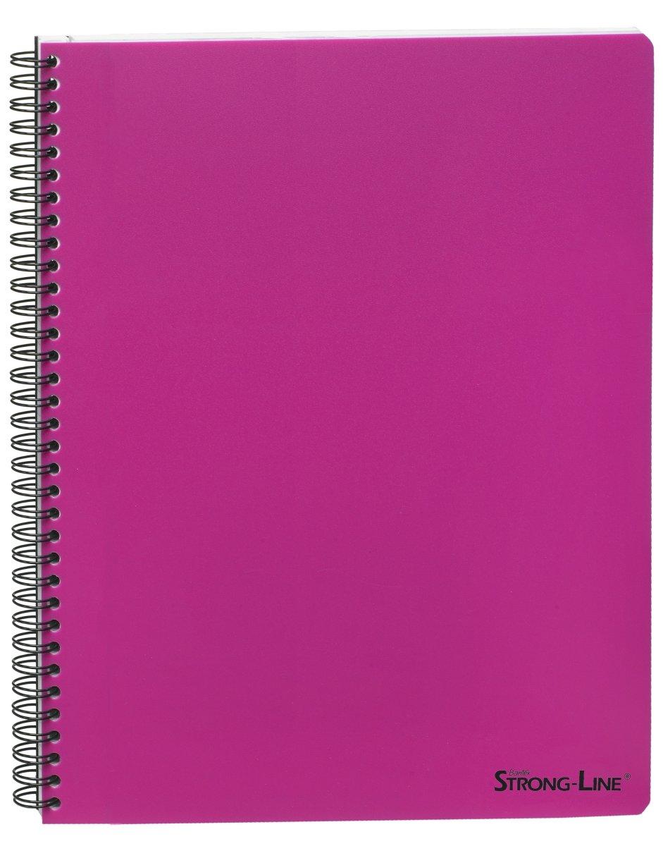 Bantex Strong-Line kollegieblok A5, linjeret, pink