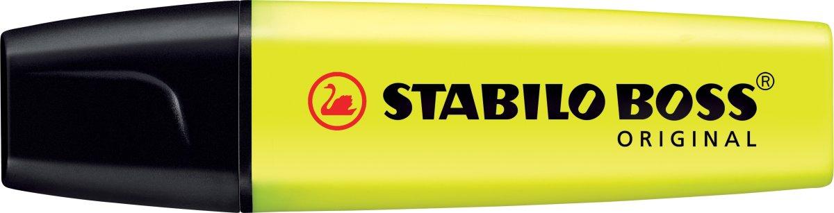 Stabilo Boss 70/24 overstregningspen, gul