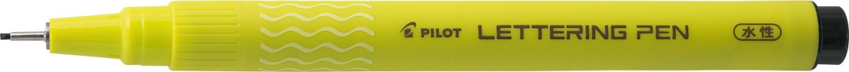 Pilot Lettering Pen 10, sort