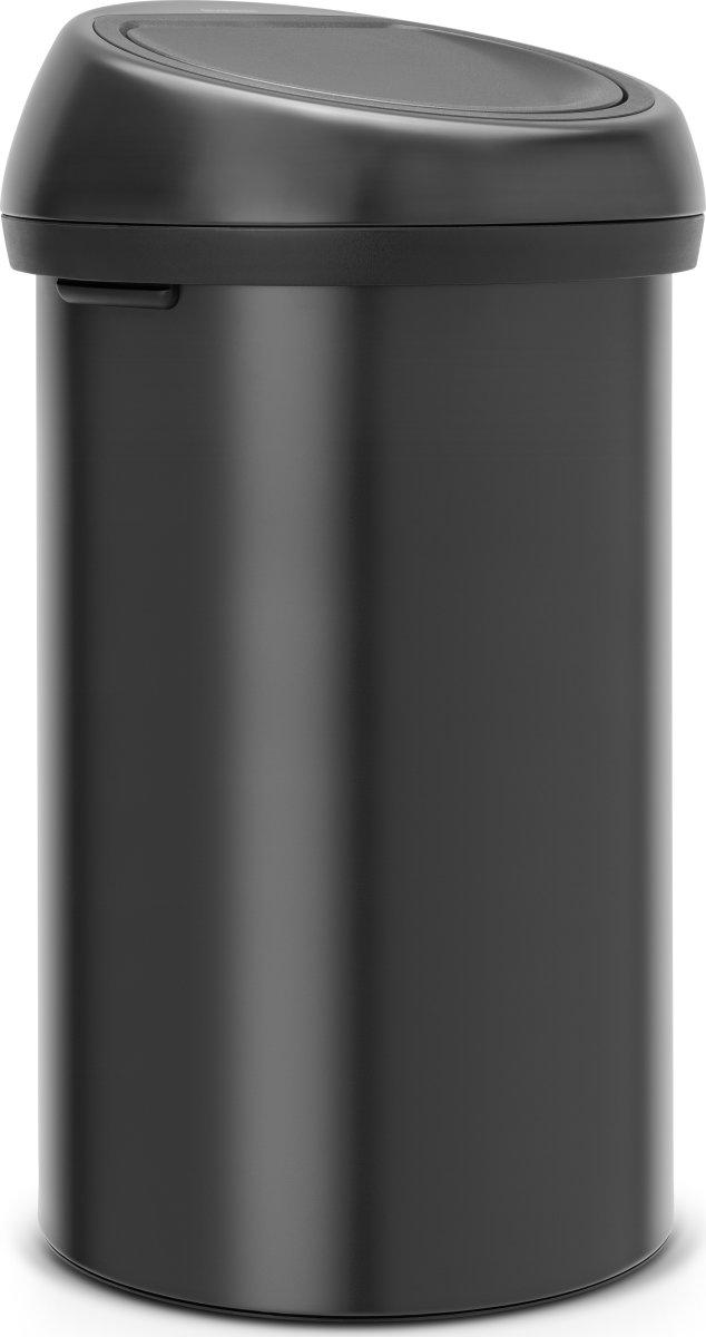 Brabantia Touch Bin 60 L, matt black