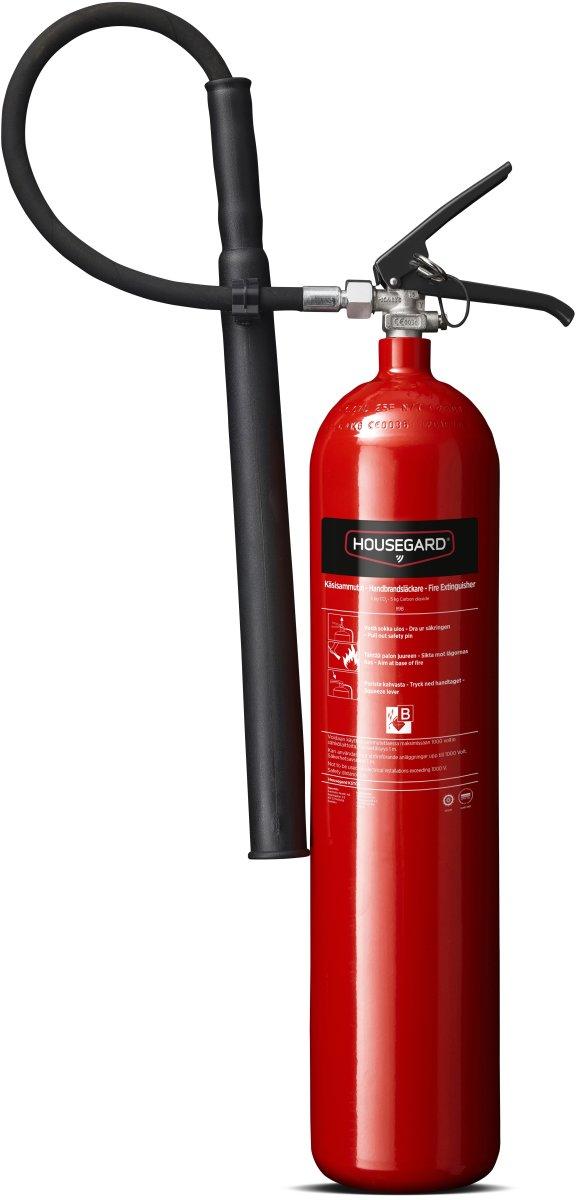 Housegard CO2 Brandslukker 5 kg