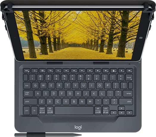 Logitech universal folio med integreret keyboard