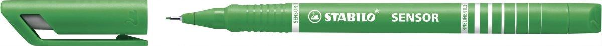 Stabilo Sensor Fiberpen, grøn