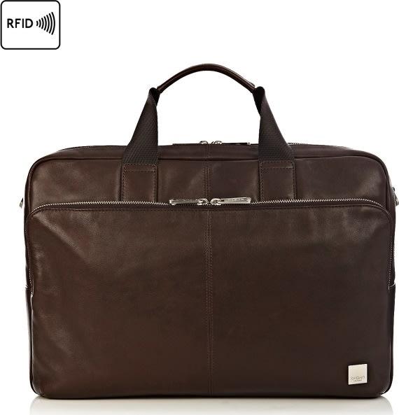 "Knomo Amesbury 15"" computertaske, brun"