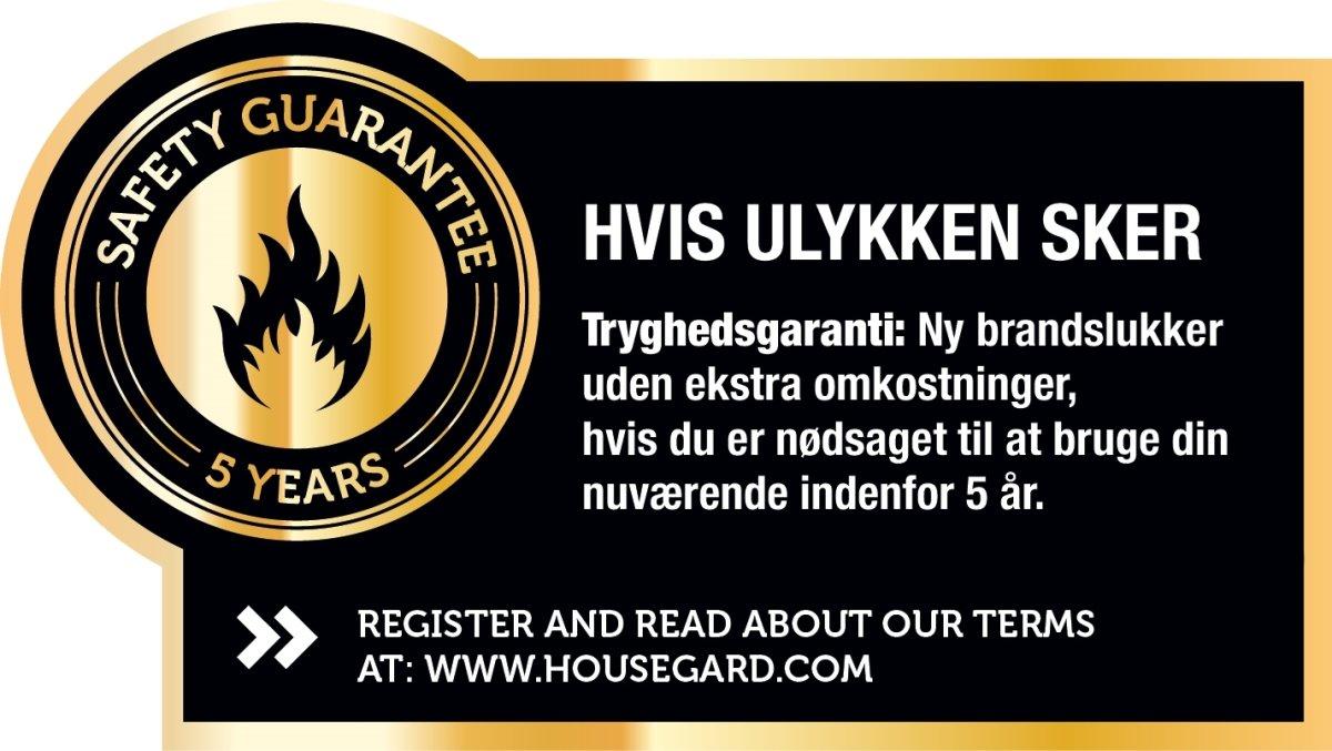 Housegard Pulverslukker Black Design 2 kg