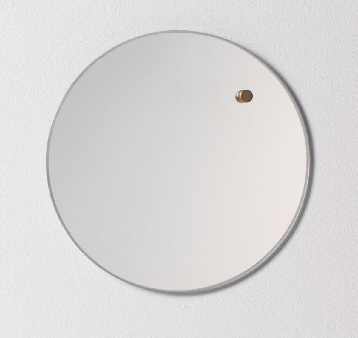 NAGA nord magnetisk opslagstavle, 25 cm, spejl