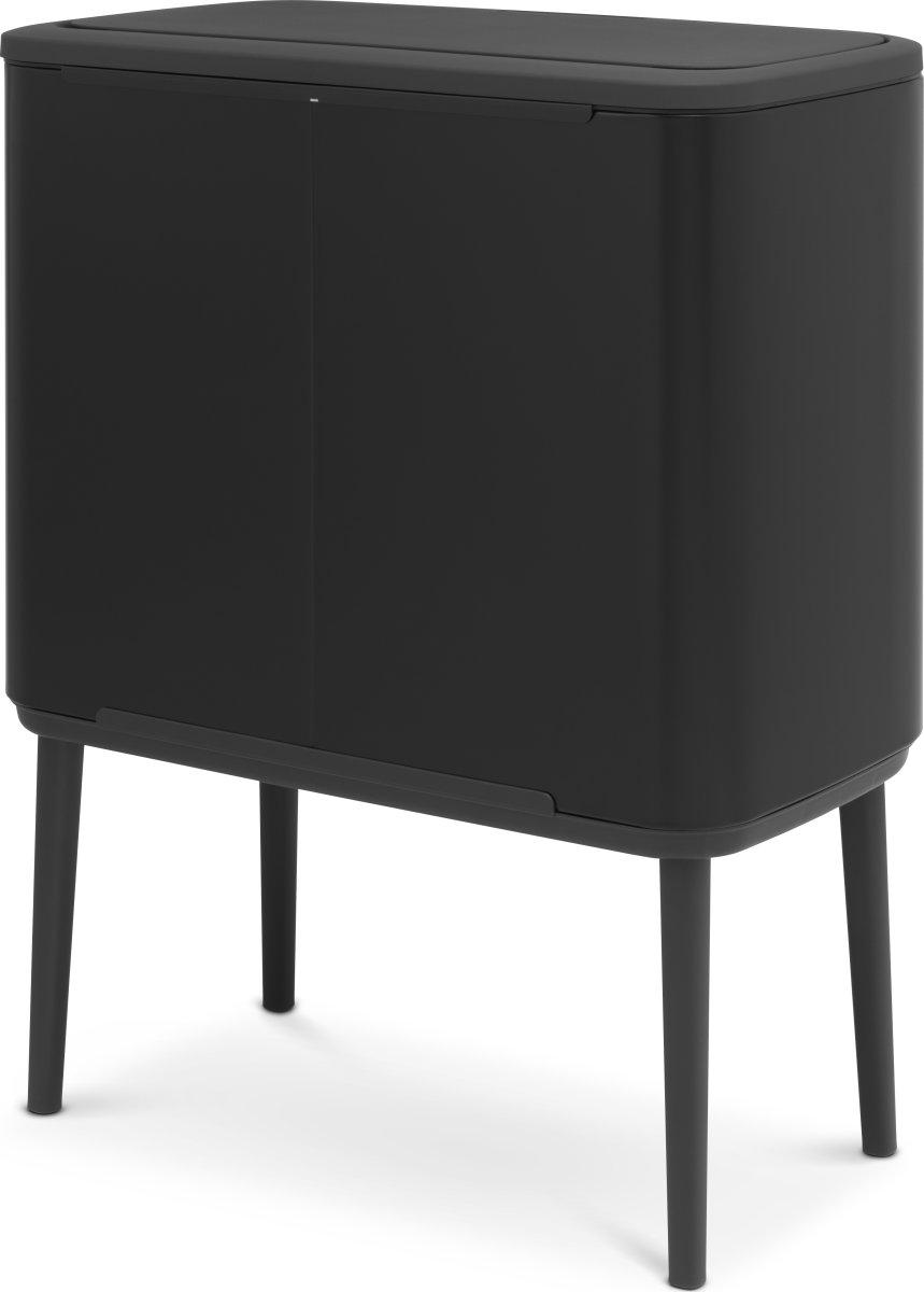 Brabantia BO Touch Bin 11+23 L, matt black