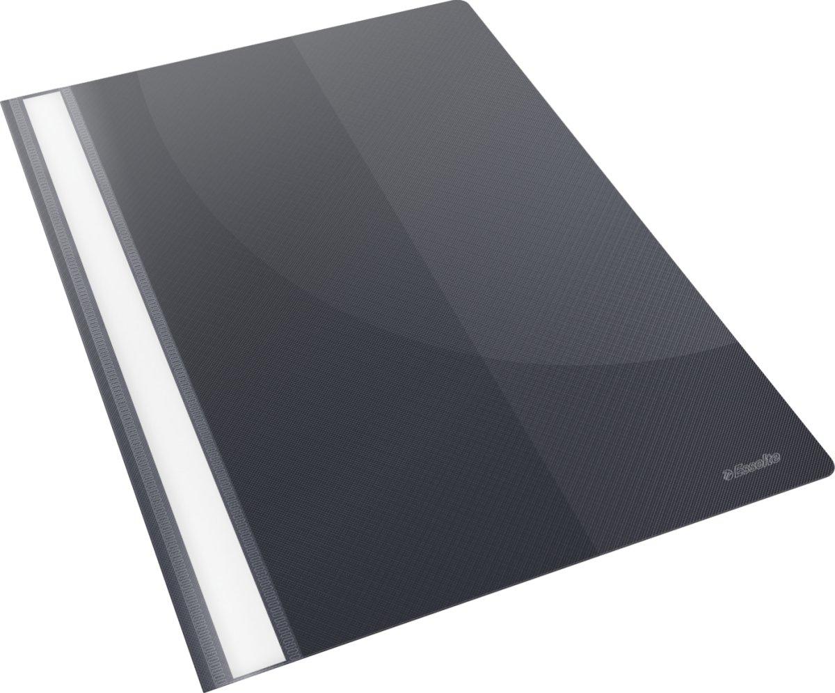 Esselte Vivida Tilbudsmappe, A4, med lomme, sort