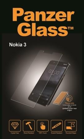 PanzerGlass skærmbeskyttelse til Nokia 3