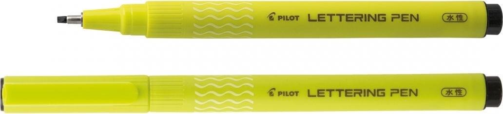 Pilot Lettering Pen 20, sort