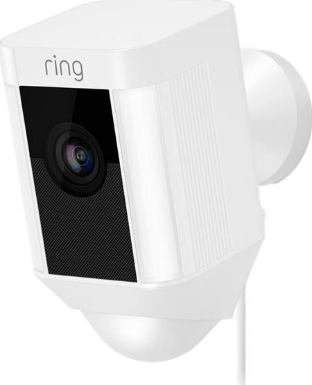 Ring kablet HD netværksovervågningskamera, hvid