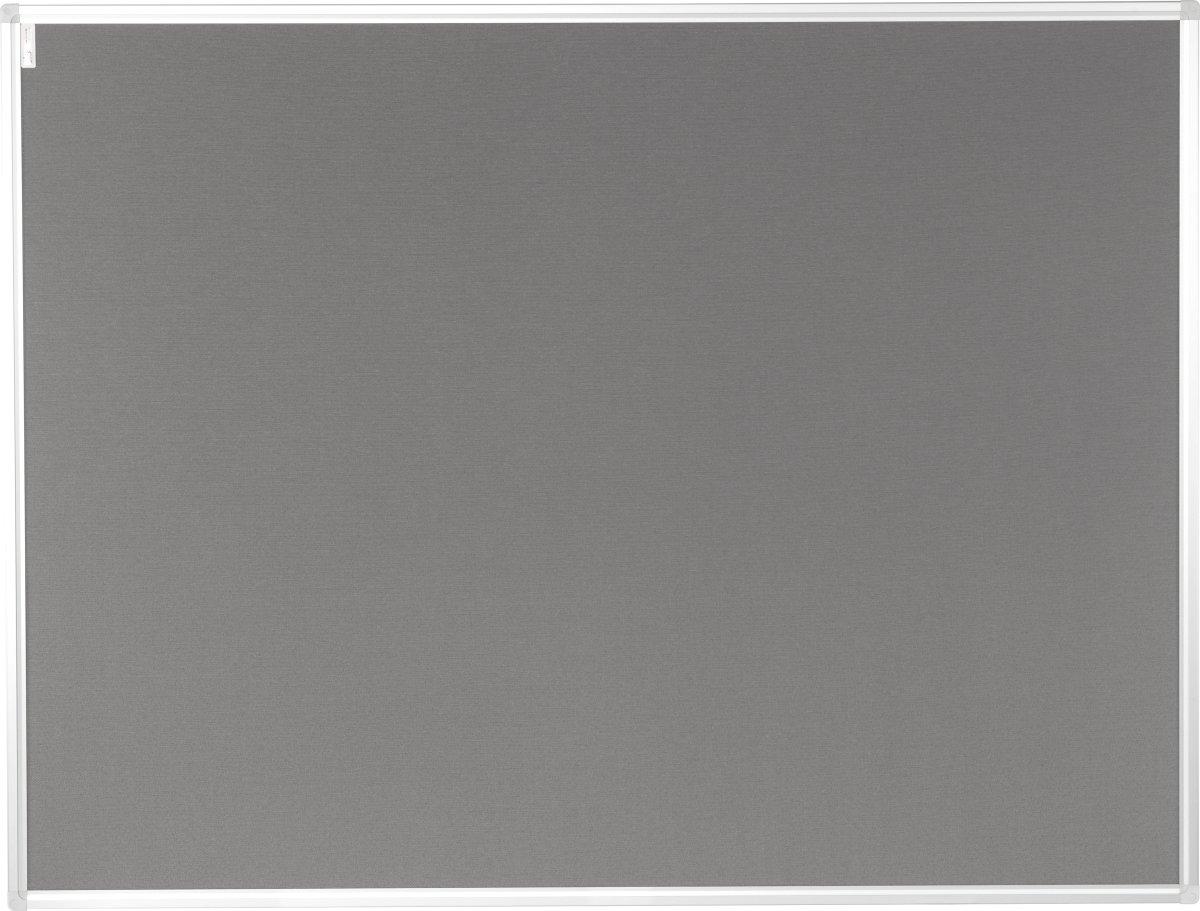 Vanerum opslagstavle 122,5x202,5 cm, grå bomuld