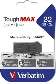 Verbatim USB 2.0 ToughMAX 32GB, sort