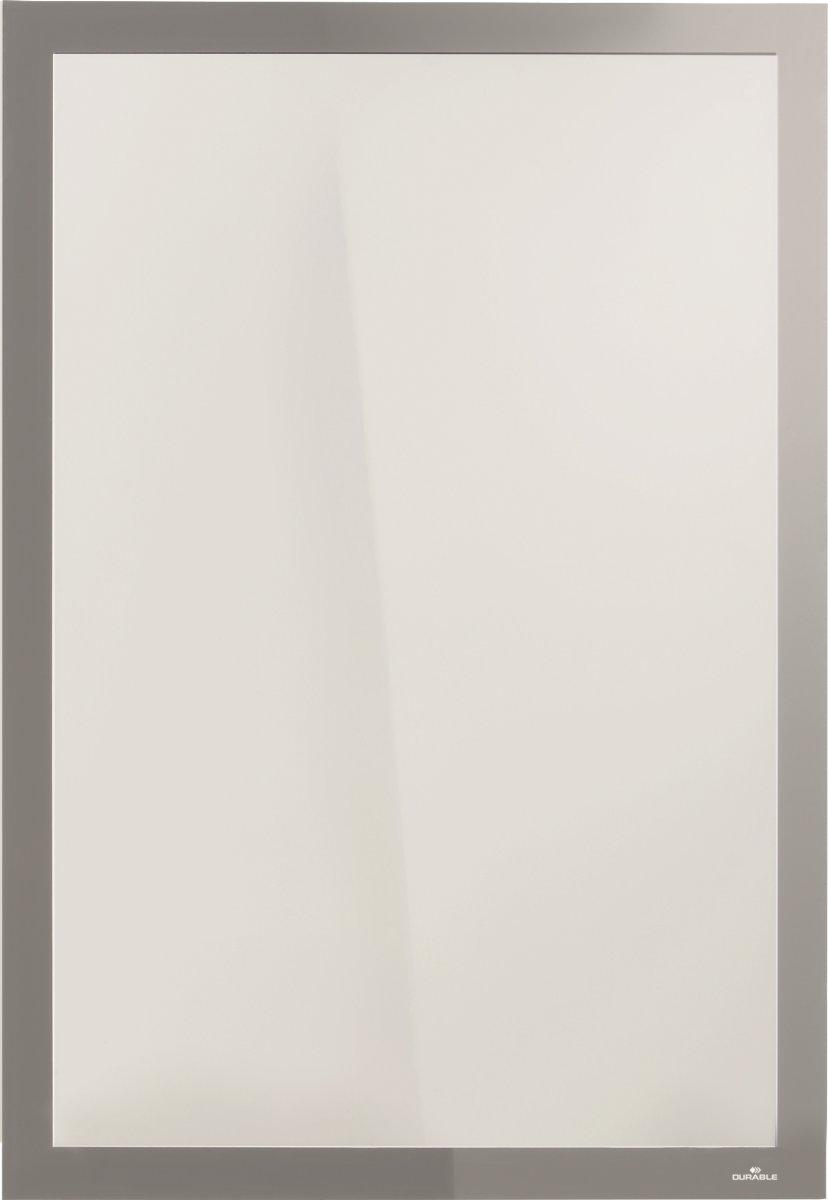 Durable Poster Sun Magnetramme A2, sølv