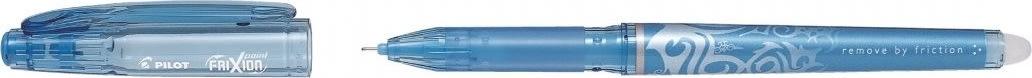 Pilot Frixion Point kuglepen, lyseblå