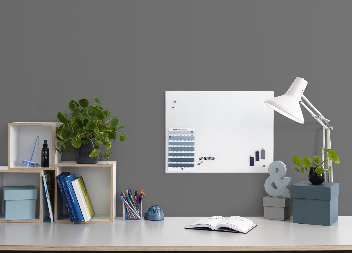 NAGA Glassboard magnetisk 60x45 cm, Pure White