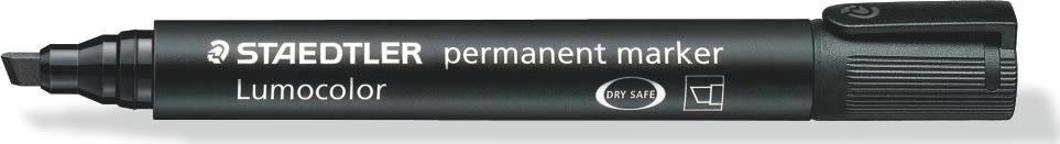 Staedtler Lumocolor marker skrå, 2-5 mm, sort