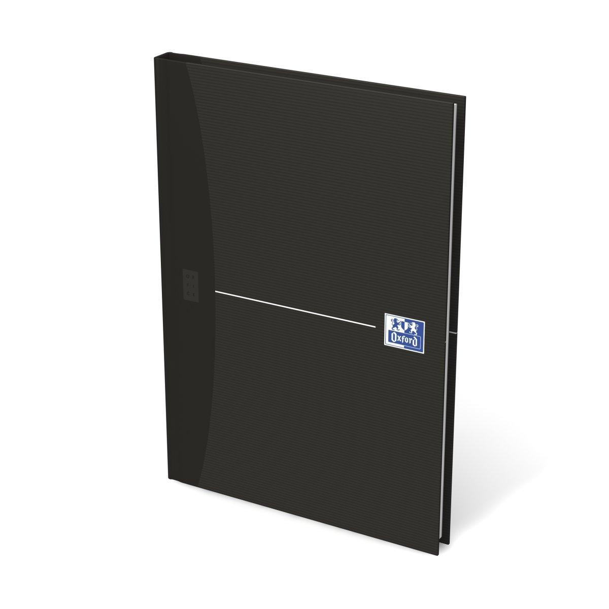 Oxford Smart Black Notesbog A5, linjeret