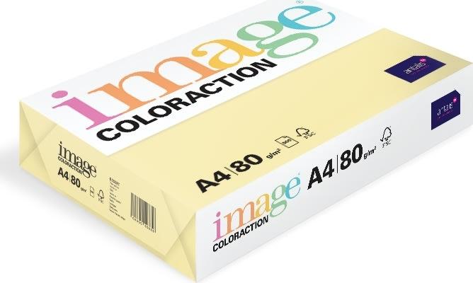 Image Coloraction A4, 80g, 500ark, majsgul
