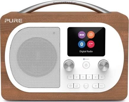Pure Radio Evoke H4 med FM/DAB/DAB+, Valnød