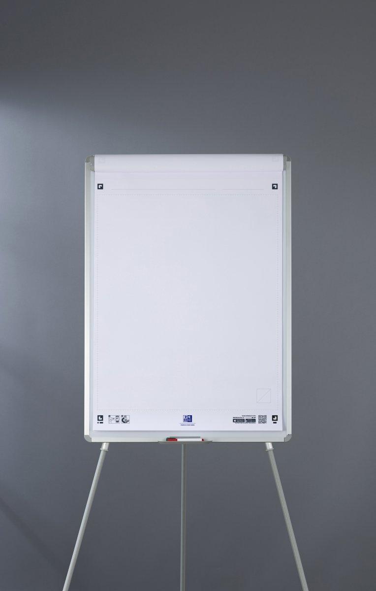 Oxford Smart Chart Flipoverblok 650x980 mm, blank