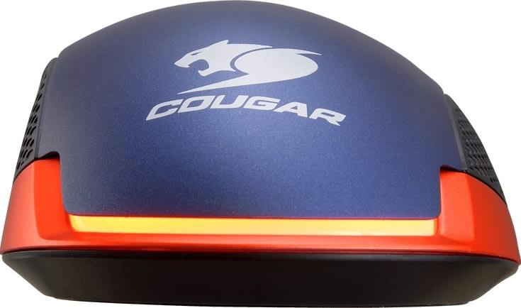 Cougar gaming mus 550M Optisk, metalblå