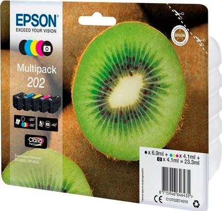 Epson T202 XL blækpatroner, sampak