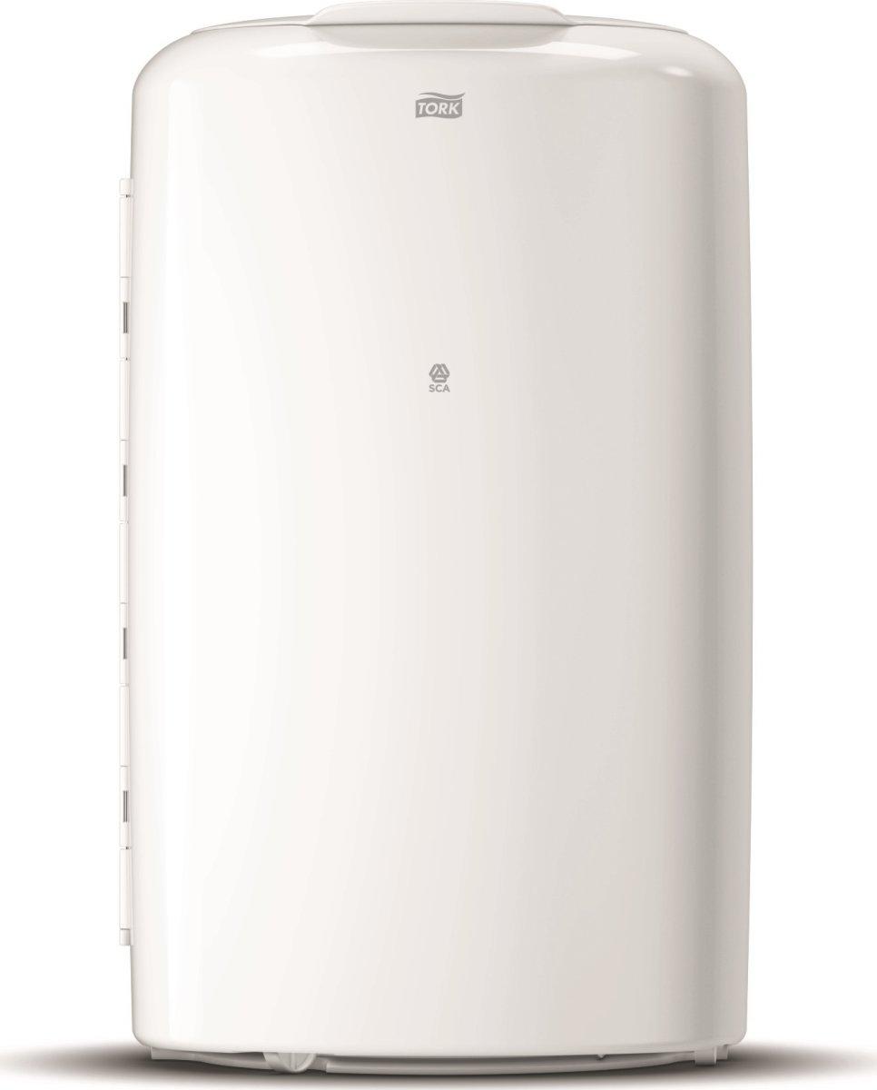 Tork B1 Affaldsspand, 50 liter, oval, hvid