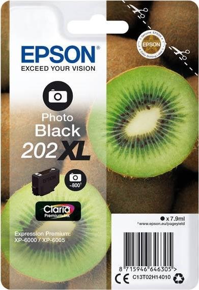 Epson T202 blækpatron XL, sort